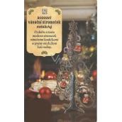 Albi Rodinný vánoční stromeček metalický
