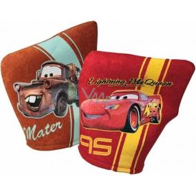 Disney Cars McQueen umývací špongia pre deti 18,4 x 26,7 x 1 cm 1 kus