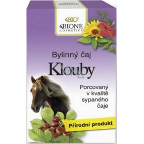 Bion Cosmetics Kĺby bylinný čaj XL 20 vreciek po 2 g