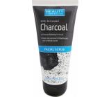 Beauty Formulas Charcoal Aktívne uhlie peeling na tvár a krk 150 ml