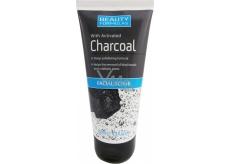 Beauty Formulas Charcoal Aktivní uhlí peeling na obličej a krk 150 ml