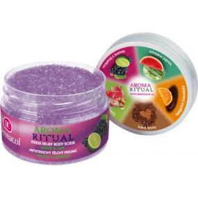 Dermacol Aroma Ritual Hrozny s limetkou Antistresový tělový peeling 200 g