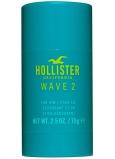 Hollister Wave 2 for Him dezodorant stick pre mužov 75 g