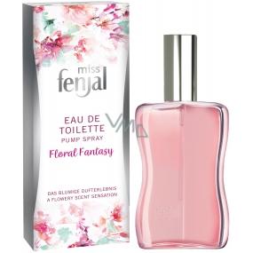 Fenjal Miss fenjal Floral Fantasy toaletná voda pre ženy 50 ml