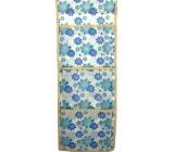 Vreckár 667 modrej a tyrkysovej kvety 6675