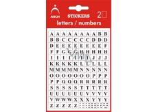 Arch Samolepicí písmena A-Z v blistru + bonus, výška 5 mm 2 archy