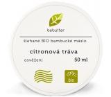 Aromatica Bebutter Bio Citronová tráva šlehané bambucké máslo na unavené svaly 50 ml