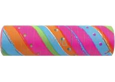 Serpentiny farebné 7 mm x 4 m 17 kusov v balení