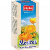 Apotheke Nechtík lekársky čaj prispieva k normálnej funkcii pečene a čriev 20 x 1,5 g