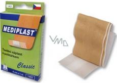 Mediplast Classic textilní náplast s polštářkem 6 cm x 1 m