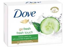 Dove Go Fresh Fresh Touch Uhorka & Zelený čaj toaletné mydlo 100 g