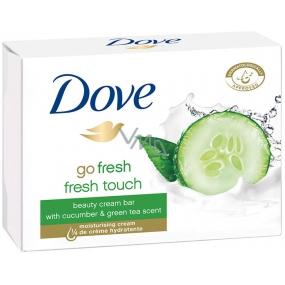Dove Go Fresh Touch Uhorka & Zelený čaj toaletné mydlo 100 g