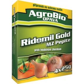 AgroBio Ridomil Gold MZ Pepi fungicíd prípravok na ochranu rastlín 3 x 5 g