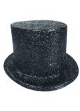 Cylinder karnevalový 25 cm čierny