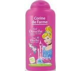 Corine de Farme Disney Princess 2v1 sprchový gel a šampon pro děti 250 ml
