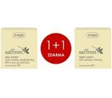 Ziaja Šafrán - Safrron 60+vyhlazující denní krém pro zralou pleť 50 ml + Šafrán - Saffron 60+ vyživující a zpevňující noční krém pro zralou pleť 50 ml, duopack