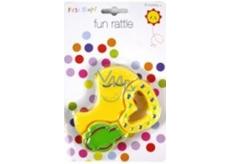 First Steps Hrkálka zvieratko žlté PS182