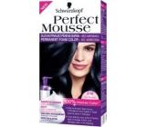 Perfect Mousse Permanent Color barva na vlasy 210 Ledový černý