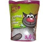 Silica Happy Cool Pet Meadow Fresh Podstielka vysoko absorpčný ekologické silikónové s vôňou pre mačky 3,6 l