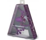 If The Anywhere Light Multifunkční lampička fialová 125 x 35 x 150 mm