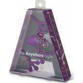 If The Anywhere Light Multifunkčná lampička fialová 125 x 35 x 150 mm