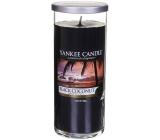 Yankee Candle Black Coconut - Čierny kokos vonná sviečka Décor veľký valec sklo 75 mm 566 g