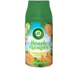 Air Wick Freshmatic Beach Escapes Aruba melónový koktail automatický osviežovač náhradná náplň 250 ml