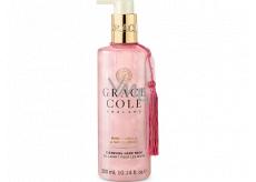 Grace Cole Warm Vanilla & Santalwood - Teplá vanilka a santalové drevo čistiace tekuté mydlo na ruky dávkovač 300 ml