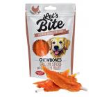 Brit Lets Bite Žuvacie tyčinky s kuracími filety doplnkové krmivo pre psov 80 g