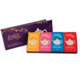 English Tea Shop Bio Fialové vianoce 60 kusov biologicky odbúrateľných pyramidek čaju 90 g, darčeková sada