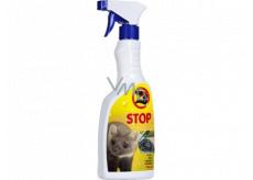 Bio-Enzým Stop Kuna prírodné odpudzovač kún pre použitie v interiéri aj v exteriéri rozprašovač 500 ml