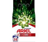 Ariel Aquapuder Ultra Oxi Effect prací prášok na biele, farebné a čierne prádlo 38 dávok 2,850 kg