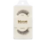 Bloom Natural nalepovací řasy z přírodních vlasů obloučkové černé č. 82 1 pár