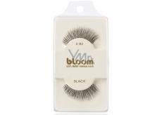 Bloom Natural nalepovacie riasy z prírodných vlasov obloučkové čiernej č. 82 1 pár
