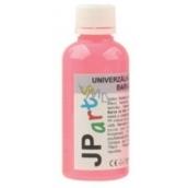 JP arts Univerzální akrylátová barva lesklá, svítící ve tmě Neon červená 50 g