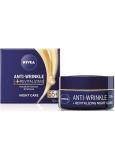 Nivea Anti-Wrinkle + Revitalizing 55+ Obnovujúci nočný krém proti vráskam 50 ml
