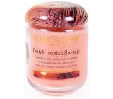 Heart & Home Dotyk tropického raja Sójová vonná sviečka veľká horí až 70 hodín 310 g