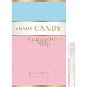 Prada Candy Sugar Pop parfémovaná voda pro ženy 1,5 ml s rozprašovačem, Vialka