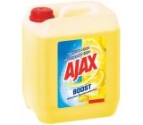 Ajax Boost Baking Soda a Lemon univerzálny čistiaci prostriedok 5 l