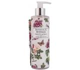 Bohemia Gifts & Cosmetics Botanica Šípek a růže tekuté mýdlo dávkovač 250 ml