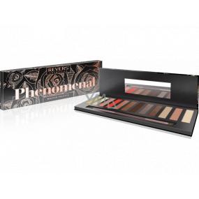 Reverz pHenomenal 12-colour Paletka očných tieňov 01 pHenomenal Black 9 g