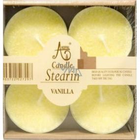 Adpal Stearín Maxi Vanilla - Vanilka vonné čajové sviečky 4 kusy