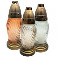 Admit Lampa sklenená 20 cm 30 g LA T 33 rôzne farby