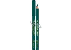 Dermacol 12H True Colour Eyeliner dřevěná tužka na oči 05 Green 2 g