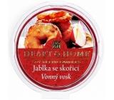 Heart & Home Jablká so škoricou Sójový prírodný voňavý vosk 27 g