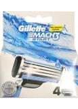 Gillette Mach3 Štart náhradné hlavice 4 kusy