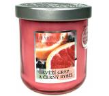 Heart & Home Svieža grep a čierne ríbezle Sójová vonná sviečka veľká horí až 75 hodín 340 g