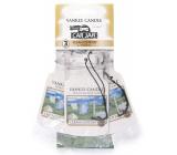 Yankee Candle Clean Cotton - Čistá bavlna Classic visačka do auta papierová sada 3 kusy x 12 g
