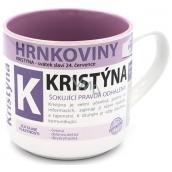Nekupto Hrnkoviny Hrnček s menom Kristína 0,4 litra