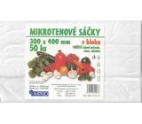 IMPRO Sáčok mikroténové v bloku 30 x 40 cm 50 kusov